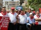 المسيرة التقليديّة في الناصرة بمناسبة الأوّل من أيّار تأكيدًا على حقوق العمال