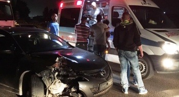 المكر: اصابة شخص بجراح طفيفة في حادث طرق ذاتي