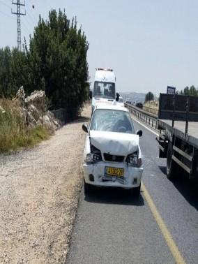 7 اصابات في حادث طرق على مفترق شازور قرب الرامة