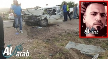 مصرع أحمد زعبي (25 عامًا) من الناعورة في حادث طرق دام وقع بالقرب من البلدة