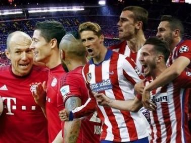بايرن ميونخ وأتلتيكو مدريد في مباراة مصيرية