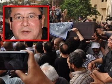 تشييع جثمان الفنان المصري وائل نور