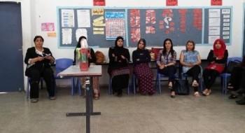 يوم استكمال لطاقم المعلمين في مدرسة الرازي في اللد