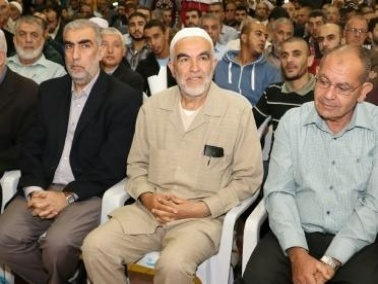 توافد المتضامنين مع الحركة الإسلامية إلى أم الفحم