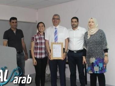 مركز الموهوبين كفرقرع يستضيف د. احمد كبها