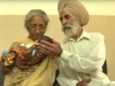 هندية تلد طفلًا في عامها السبعين