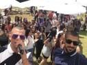 الفنان علاء عكر يُشعل مسرح كليّة عيمك يزراعيل في حفل خاص للطلاب العرب