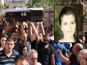 كفركنا: جماهير غفيرة تشيع جثمان الشابة جمانة جرايسي بأجواء من الحزن والاسى