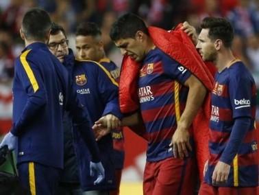 الإصابة تحرم سواريز من أولى مباريات الأوروجواي