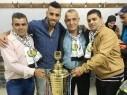 هيثم ذيب ابن مجد الكروم يحقق بطولة الدوري الفلسطيني مع شباب الخليل