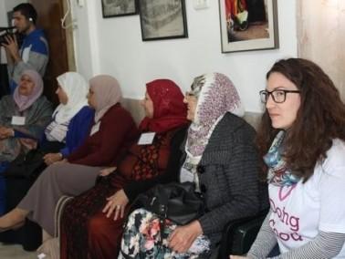 نساء يطبخن للسلام في إطار مشروع يوم الأعمال الخيرية