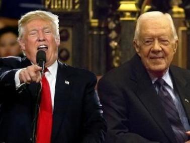 كارتر: ترشح ترامب أزال الغطاء عن مستودع العنصرية