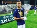 هدف لمروان كبها خلال إحراز كأس سلوفينيا مع نادي ماريبور