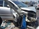 6 اصابات في حادث طرق بين ثلاث سيارات قرب زيمر