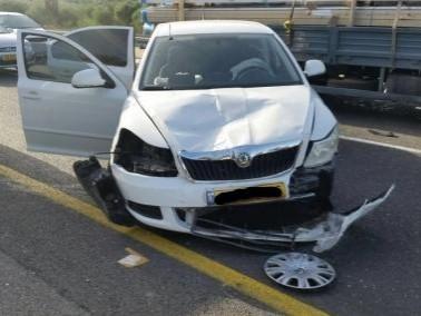 إصابة شخص في حادث على مفرق كرمئيل