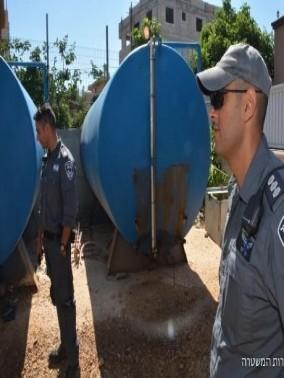 الجولان: مداهمة 5 محطات وقود غير مرخصة