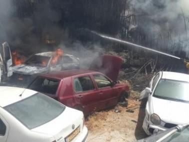 كايد ظاهر: اندلاع حريق ثالث في القدس