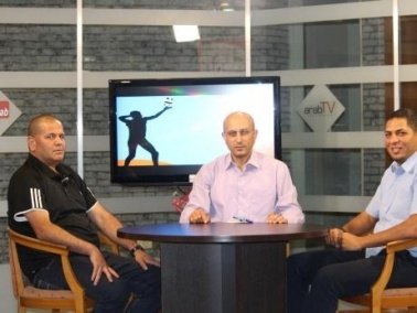 arabTV- لقاء مع النصراويين ماجد أبو شقرة ومالك بطو