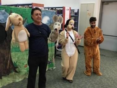 مسرحية سلطان تتوّج شهر المطالعة في مكتبة الرامة