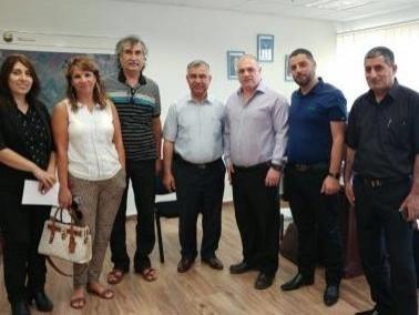 مجلس بستان المرج يجتمع بمدير وزارة الصحة
