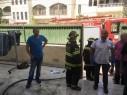 باقة الغربية: اصابة 9 اشخاص اثر اندلاع حريق في احد المنازل