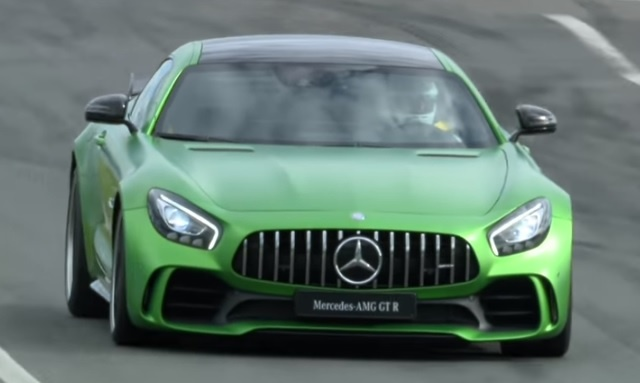 Mercedes AMG GT R مستعدة للسباق