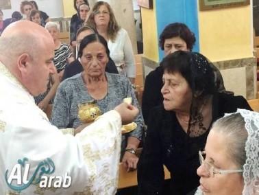 الرامة: كنيسة السيدة للروم تُكرّم المسنين