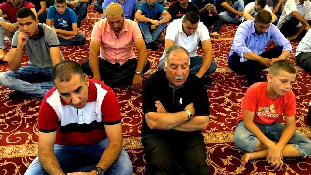 شعائر صلاة عيد الفطر بِجامع عُمَر المُختار يافة الناص