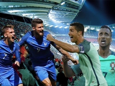 فرنسا تواجه البرتغال في نهائي يورو 2016
