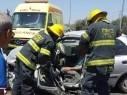 إصابات بين متوسطة وخطيرة في حادث قرب مفرق يركا