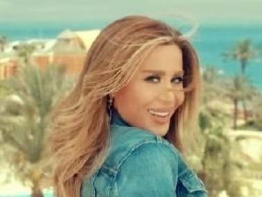 اللبنانية فيفيان مراد سعيدة بنجاح كليب مصر عظيمة