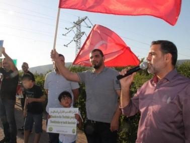 تظاهرة حاشدة للحركة الاسلامية على مفرق كفركنا