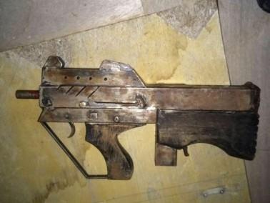 ضبط بندقية مخبأة في احد الكروم قرب إبطن
