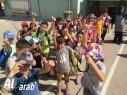 طلاب مخيم مدرسة ابن خلدون بزيارة ترفيهية لمنتجع الواحة في أم الفحم
