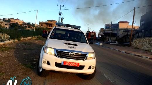 اعتقال مشتبه بالسرقة من محطة وقود في كريات آتا