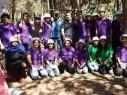 القادة الشابة من مدرسة الرازي الاعدادية اكسال تشارك في مخيم رواد محبة البلاد