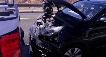 مفرق الرامة: إصابة شخصين بجراح طفيفة إثر تعرضهما لحادث طرق