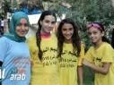 كفرقرع: طلاب المخيم الصيفي يمرحون في تل المرح