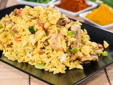 الأرز الأصفر مع المكسّرات الشهية والطيبة