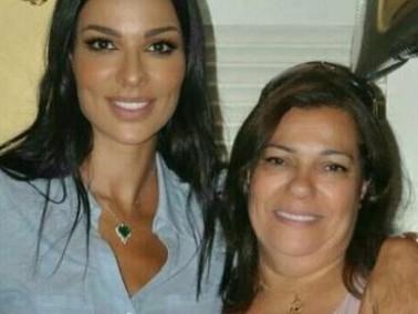 نادين نسيب نجيم مع والدتها في هذه الصّورة