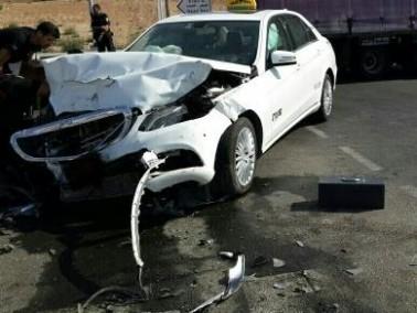 إصابة 6 أشخاص في حادث في تل عراد