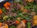 حضّري لحم العجل المشوي مع الخضراوات..صحتين