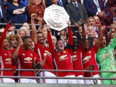 مانشستر يونايتد يفوز بدرع المجتمع الإنجليزي