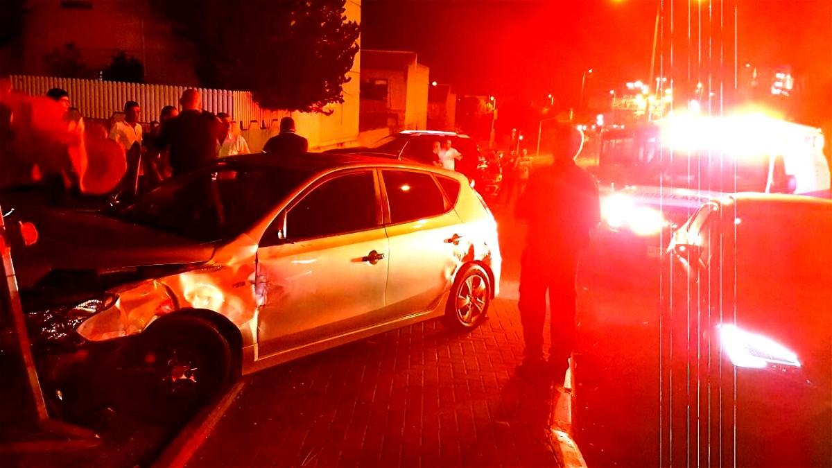 اصابة شخصين في حادث طرق في مدينة نتسيرت عيليت