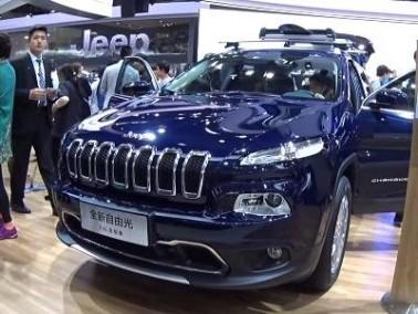 Jeep Cherokee 2017 بسرعة مضاعفة