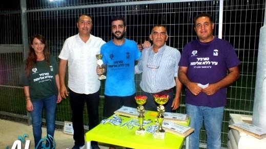 دالية الكرمل: اختتام دوري كرة القدم المصغرة