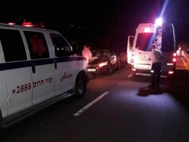 اصابة خمسة اشخاص في حادث قرب وادي سلامة