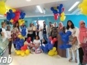 زيارة فتيات شبيبة سواعد الحميرة لقسم الأطفال المرضى في رمبام