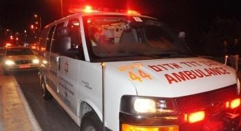 اصابة شاب بجراح متوسطة بعد تحطم باب زجاجي بمنزل في الجولان