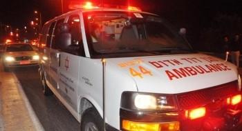 اكسال: اصابة فتى (17 عاما) بجراح متوسطة في حادث دراجة نارية